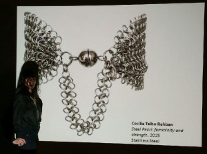 Cecilia Taibo Rahban Steel Pearl At Molaa