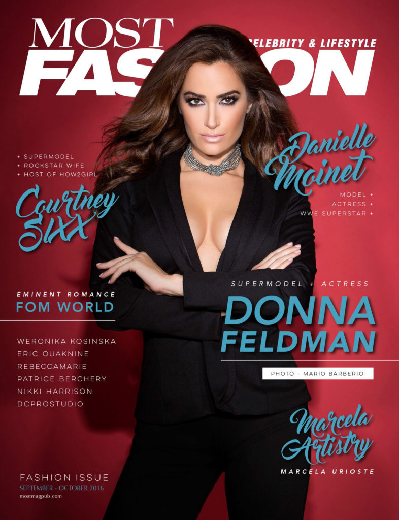 Most Magazine Cover - Donna Feldman