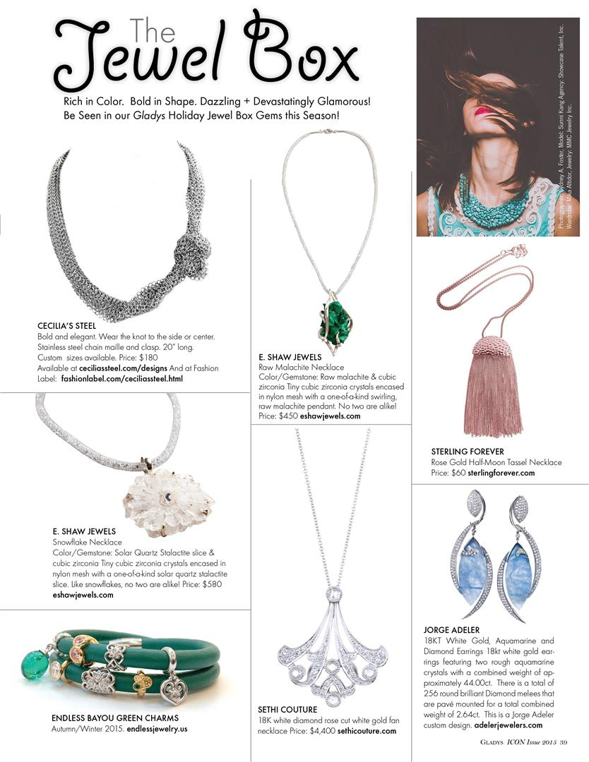 Gladys Magazine Cecilia's Steel Jewel Box