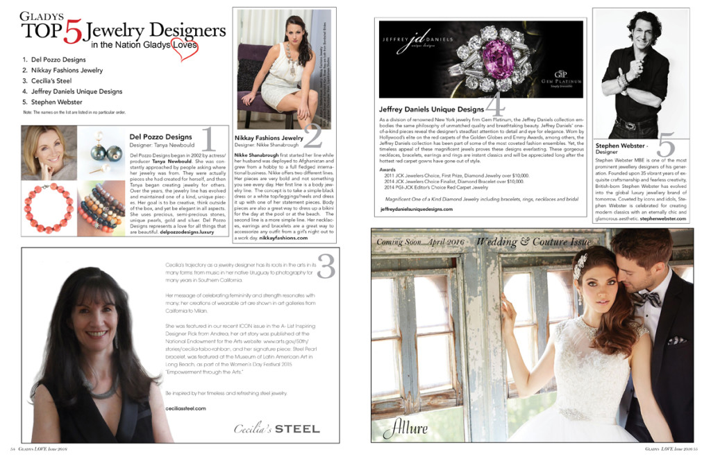 Top 5 Jewelry Designers