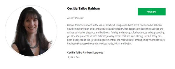 Cecilia Taibo Rahban at IfOnly