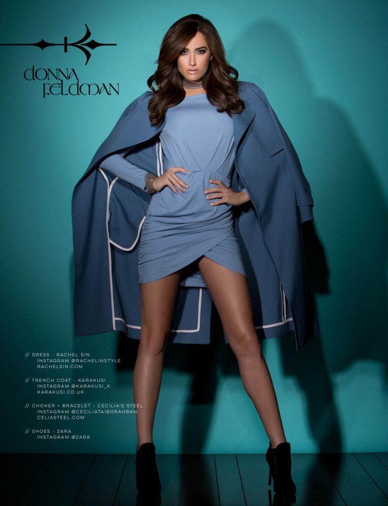 Most Magazine editorial - Donna Feldman