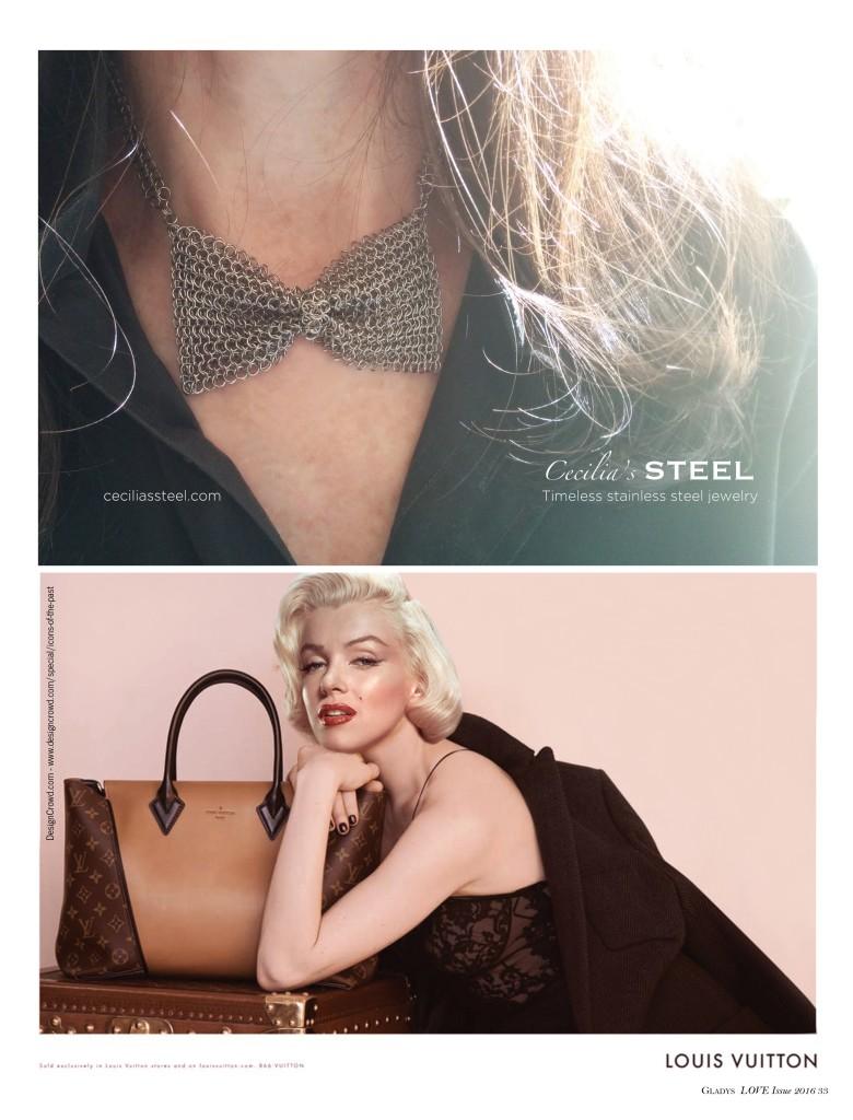 Cecilia's Steel Ad